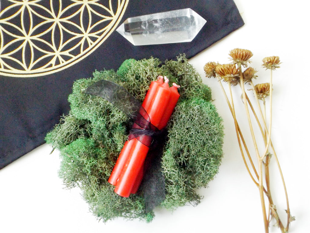 Red Ritual Candle - 3pk - Esoteric Aroma