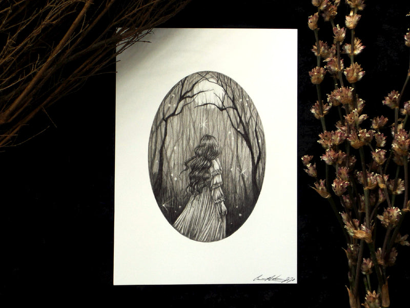 Art Print 5 x 7 | The Forest