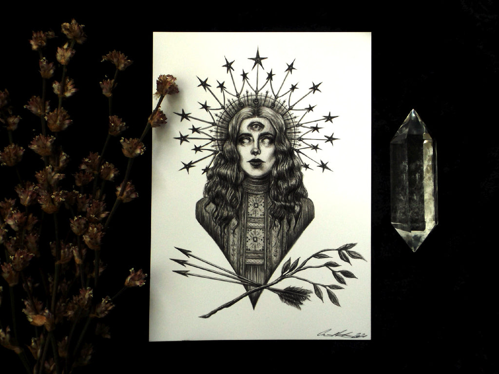 Art Print 5 x 7 | The Oracle - Esoteric Aroma
