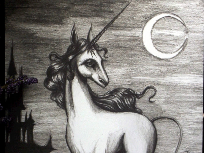 Art Print 5 x 7 | The Last Unicorn - Esoteric Aroma