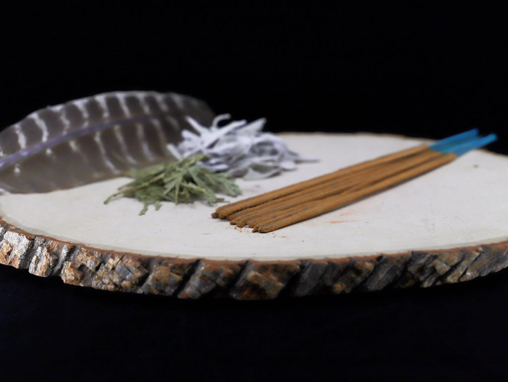 White Sage and Cedar incense sticks