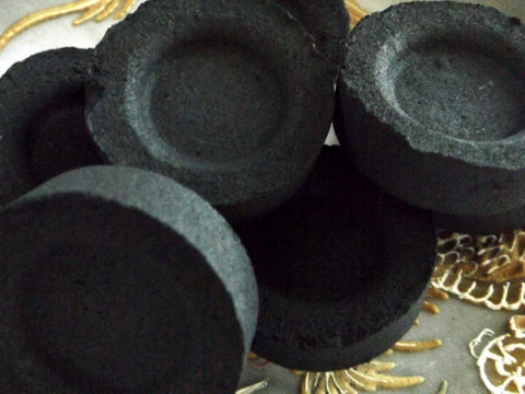 Charcoal Resin Discs - Esoteric Aroma