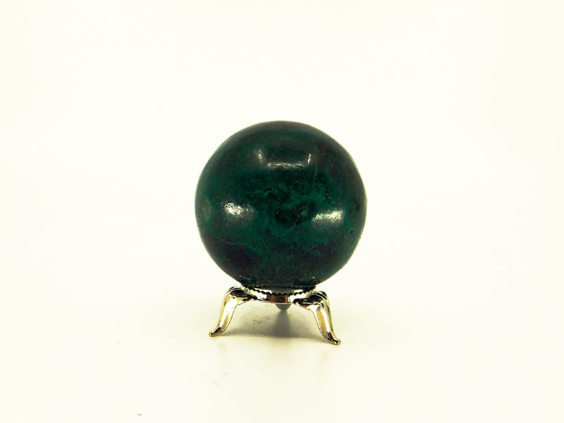 Chrysocolla crystal sphere - Esoteric Aroma