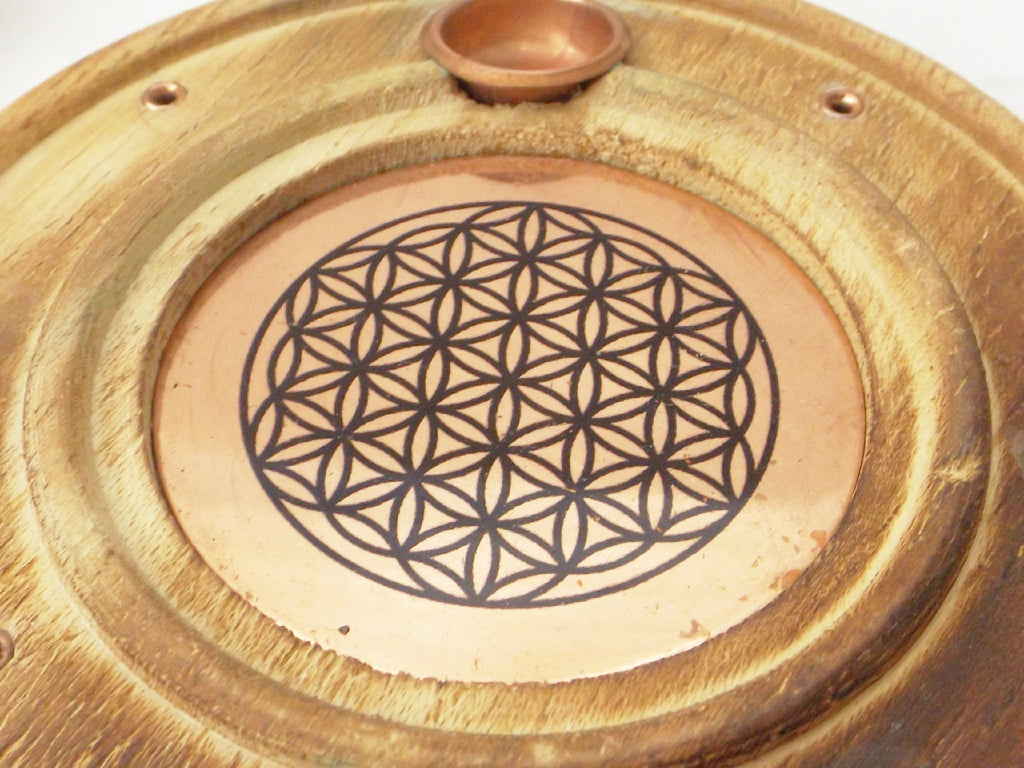 Flower of Life incense burner - Esoteric Aroma