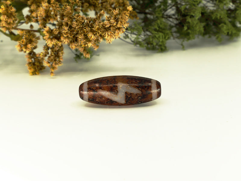 5 eyed lighting dZi bead - Esoteric Aroma
