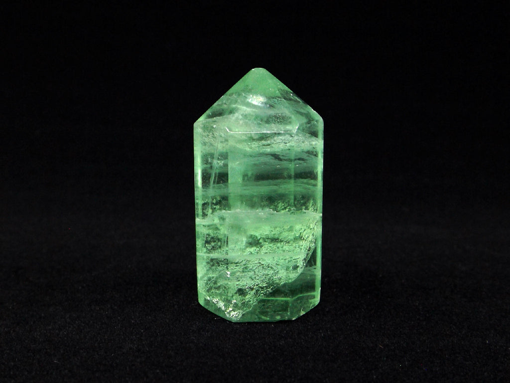 Green Fluorite polished crystal - Esoteric Aroma