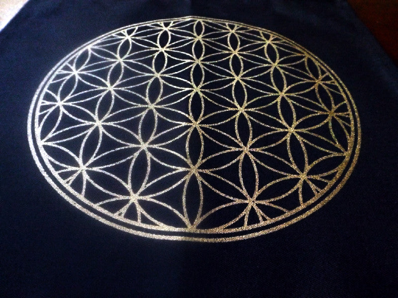 Flower of Life Crystal Grid - Esoteric Aroma