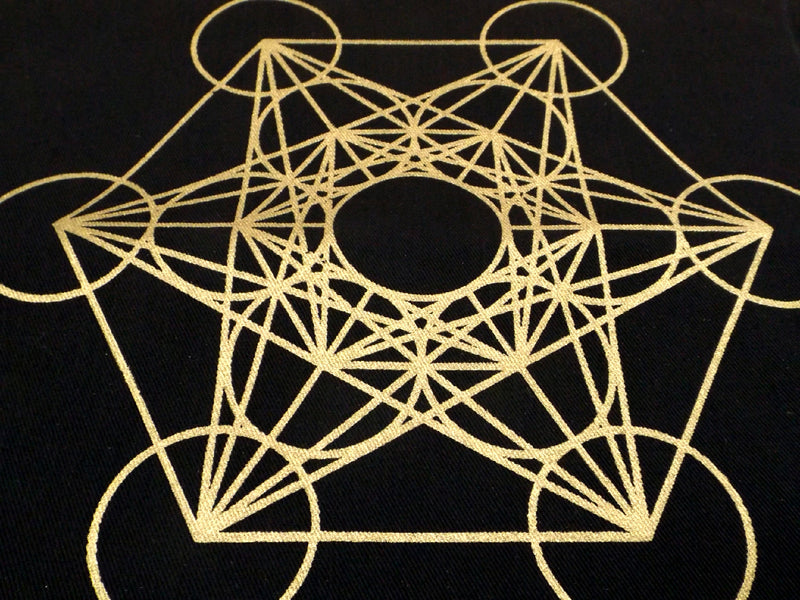 Metatrons Cube Crystal Grid - Esoteric Aroma