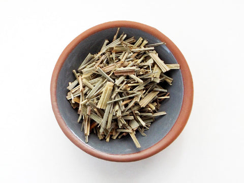 Organic Lemongrass dried herb