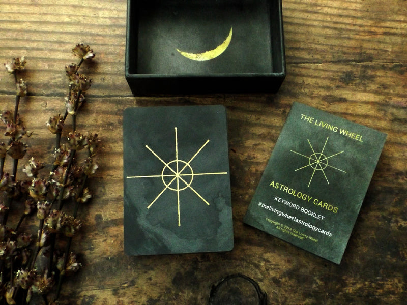 The Living Wheel Astrology Cards- Esoteric Aroma