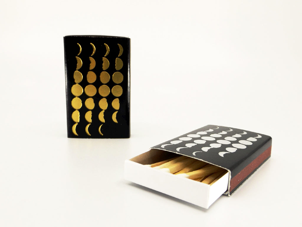 Moon Phases matchbook - Esoteric Aroma