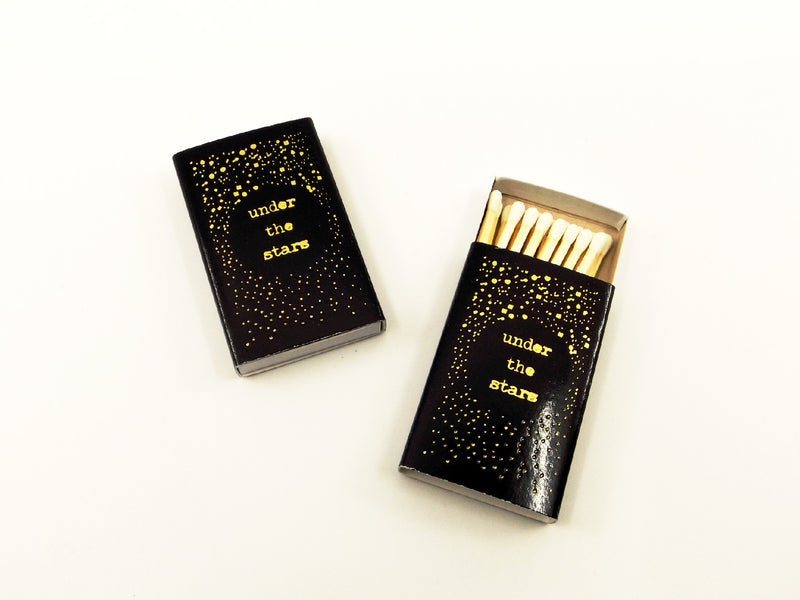 Under the Stars matchbook - Esoteric Aroma
