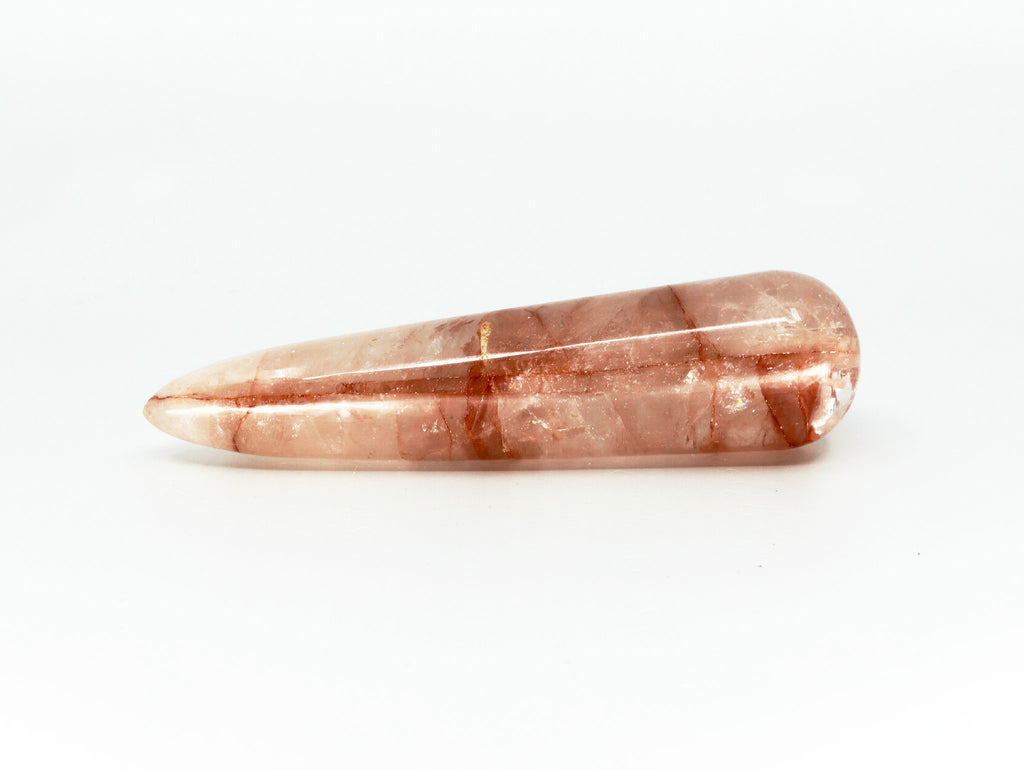 Orange Elestial quartz crystal - Esoteric Aroma