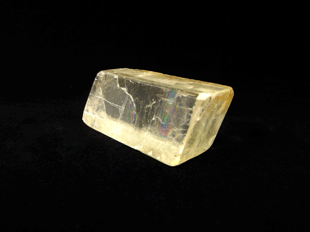 Golden Optical Calcite rhombus - Esoteric Aroma