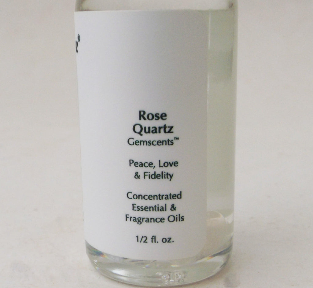 Rose Quartz Gemstone Oil - Esoteric Aroma