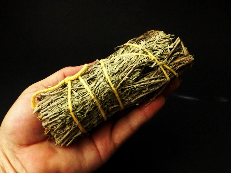 Sage and Copal smudge wand - Esoteric Aroma