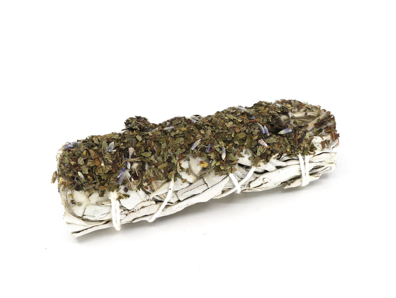 White Sage Lavender smudge wand