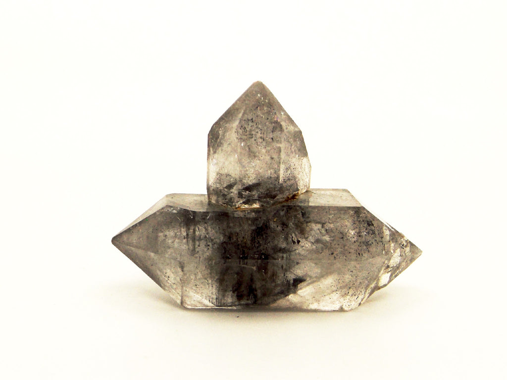 Tibetan Black Phantom quartz crystal - Esoteric Aroma