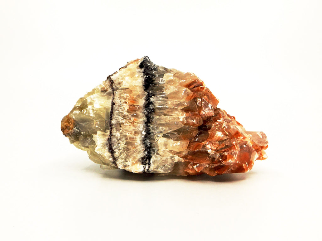 Tri Color Calcite crystal - Esoteric Aroma