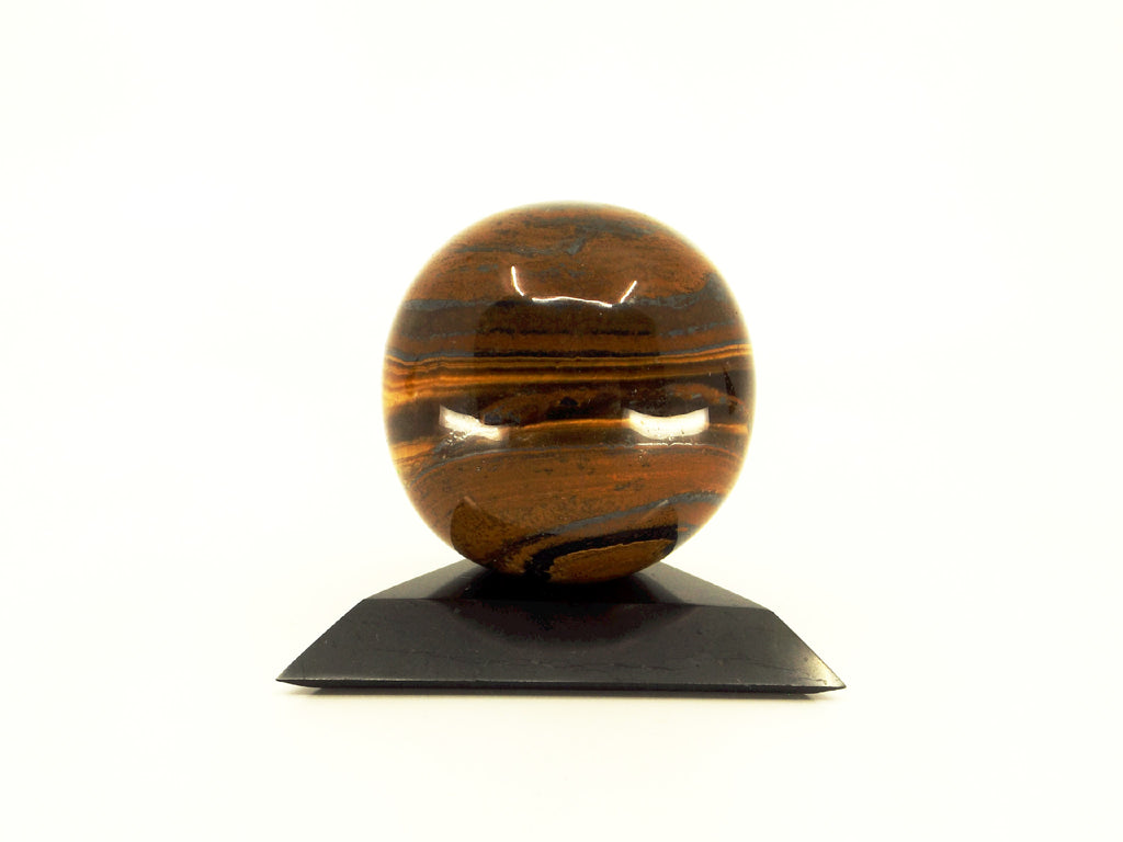 Tiger Iron crystal sphere - Esoteric Aroma