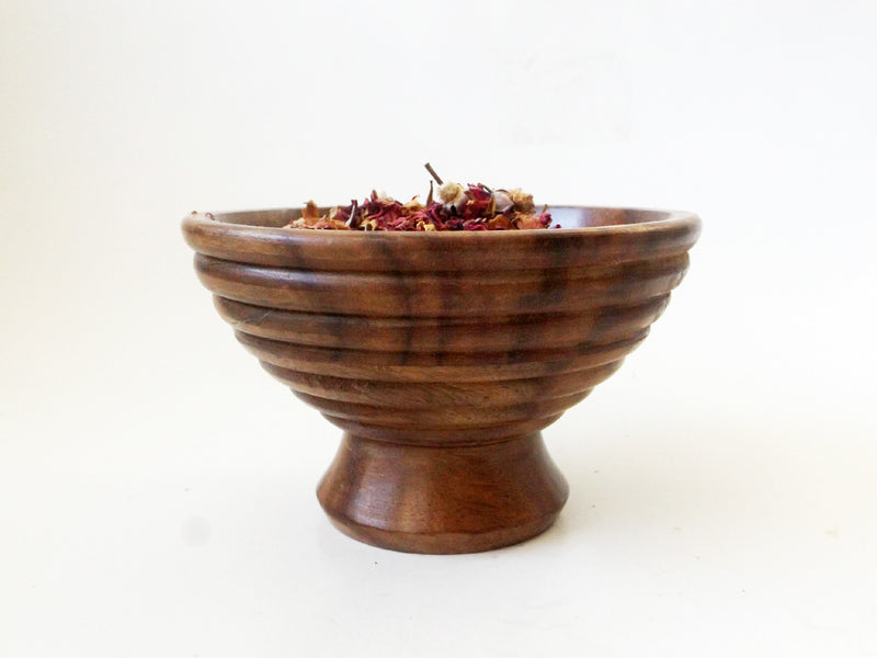 Wood Mortar and Pestle Set - Esoteric Aroma