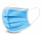 Disposable Face Mask- Blue (3-PLY) (50/Box)