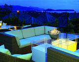 Anywhere Fireplace - Oasis Indoor/Outdoor Fireplace