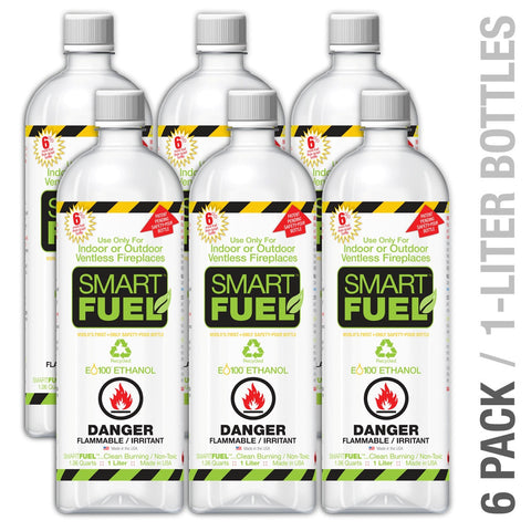 SMART FUELTM 6 Liter Pack - $12 Shipping Charge Applies