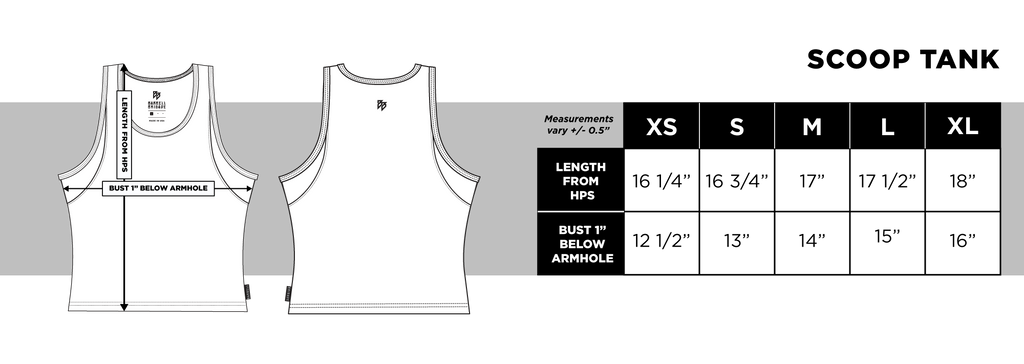 Lux - Scoop Crop Tank