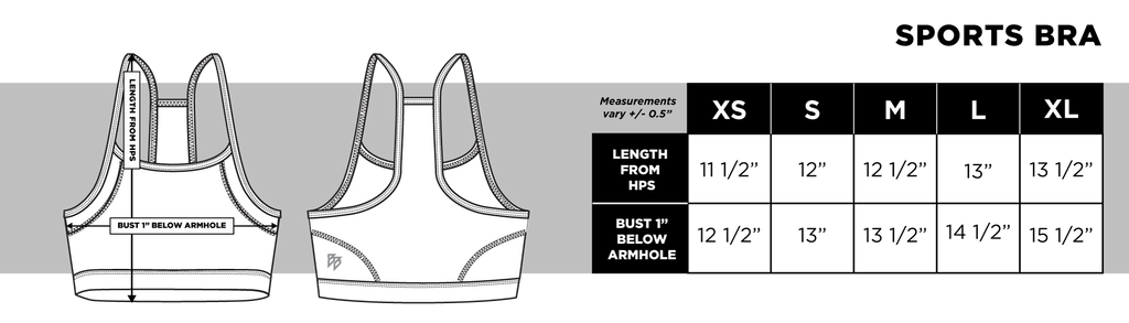 Lux Collection - Sports Bra