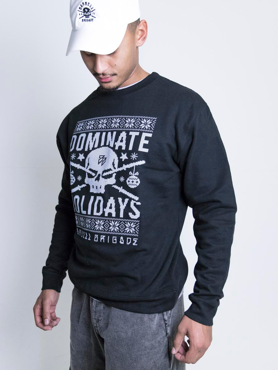 Dominate Holidays - Sweater (Black)