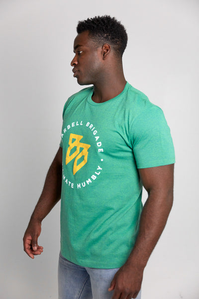 Subinfinite Block - Tee (Summer Green)