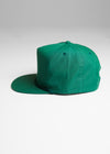 Subinfinite Hat in Green from side angle.