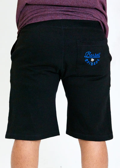 Chain Link Shorts from back.
