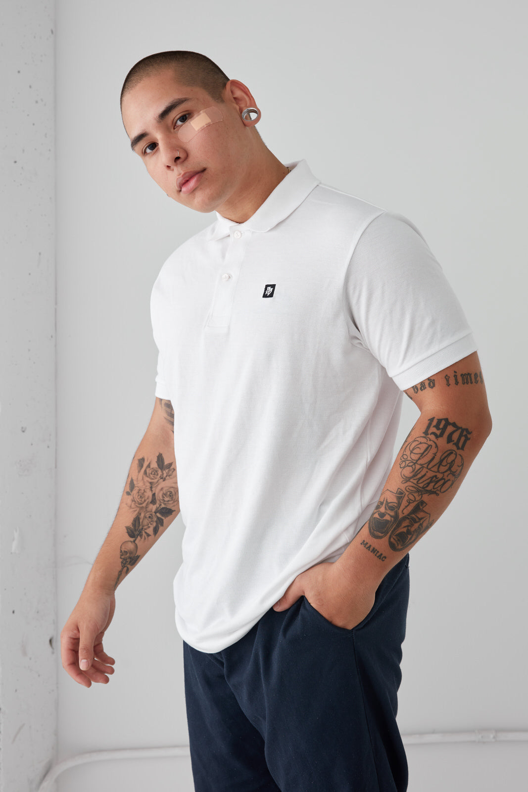 BB - Polo Shirt (White)