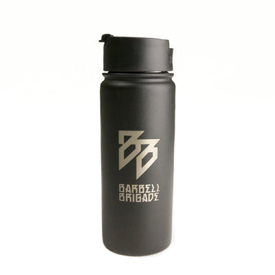 BB - 18oz Stainless Steel Bottle (Black)