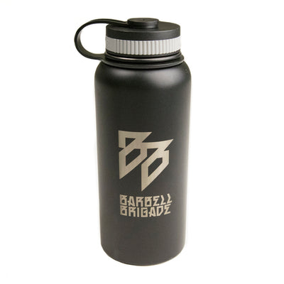BB - 32oz Stainless Steel Bottle (Black)