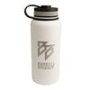 BB - 32oz Stainless Steel Bottle (White)