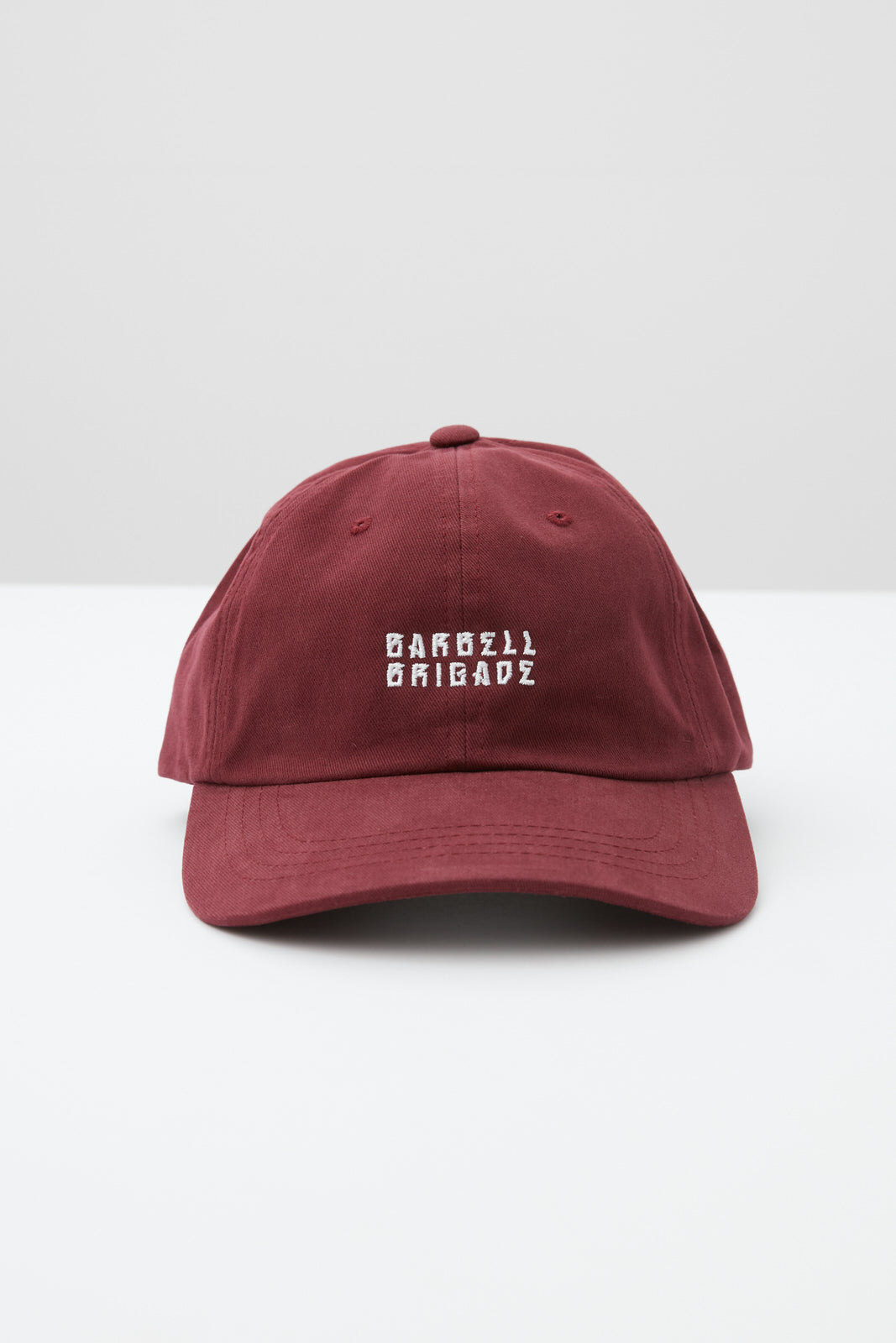 Stacked - Dad Hat (Maroon)