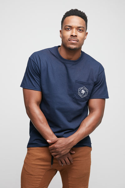 Hex - Pocket Tee (Navy)