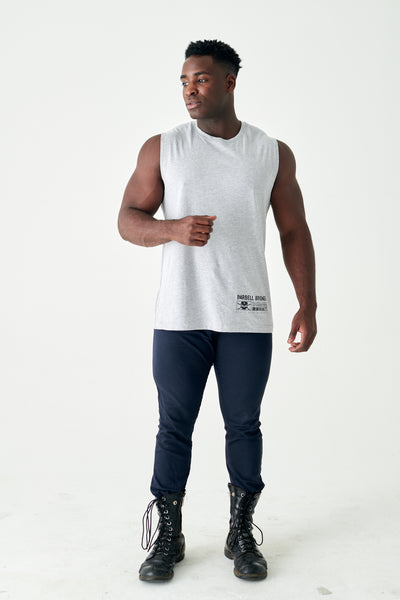 Angel City - Muscle Tank (Heather Grey)