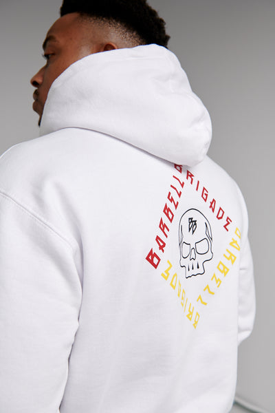 Blueprint Diamond - Hoodie (White)