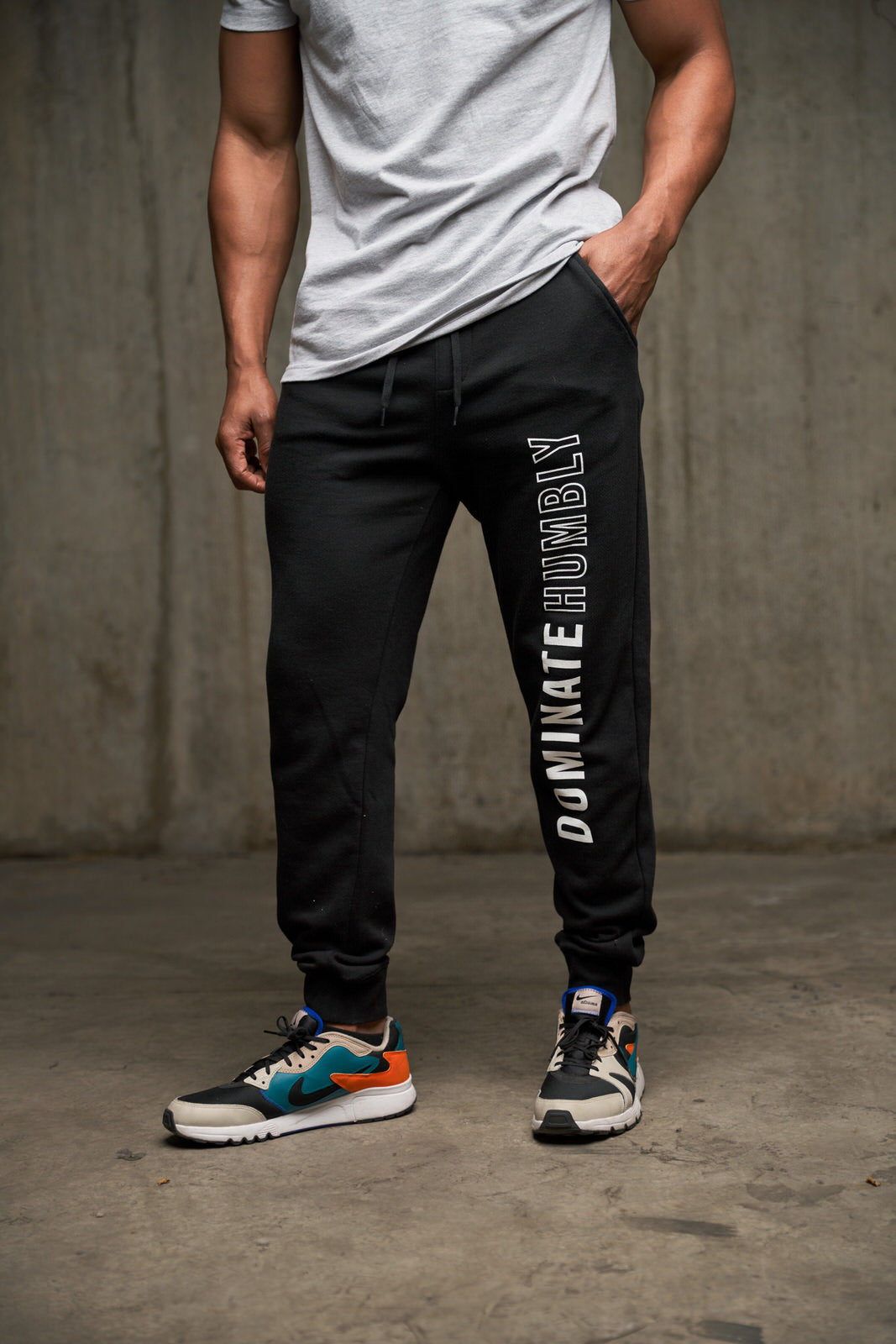 Dominate Humbly - Jogger (Black)