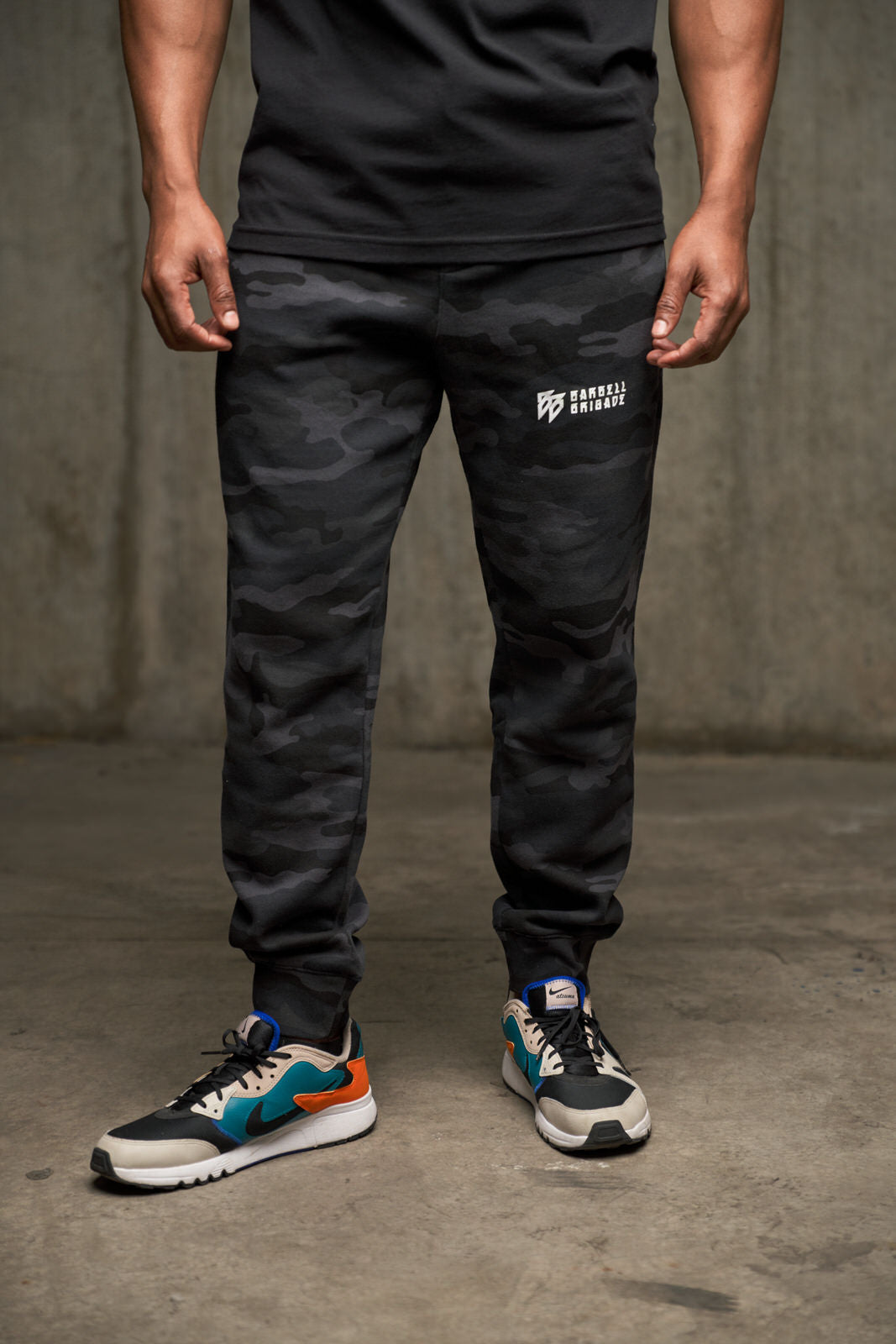 BB Horizontal - Jogger (Black Camo)