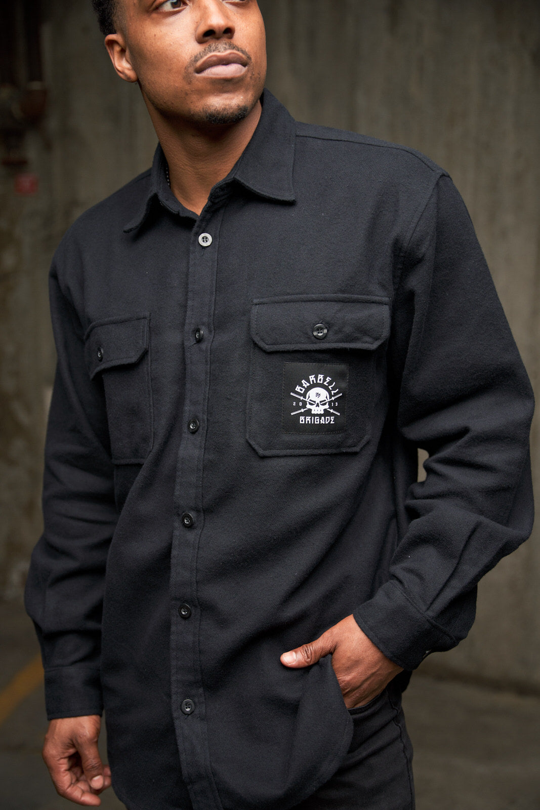 BB - Flannel Shirt (Black)
