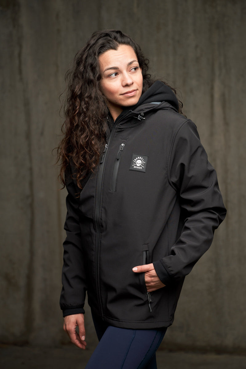 BB - Soft Shell Tech Jacket (Black)