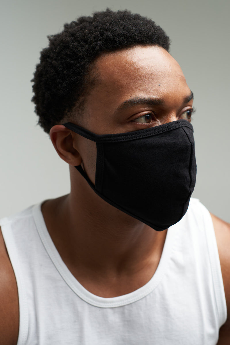 BB Stacked - Face Mask (Black)