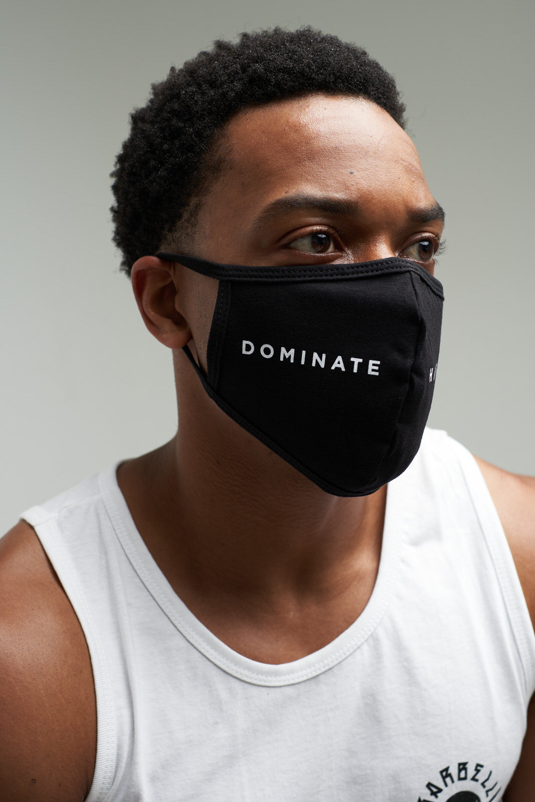 Dominate Humbly - Face Mask (Black)