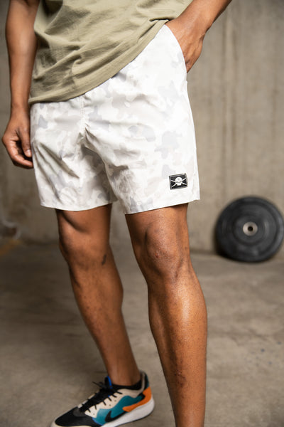 Amphibious MK2 - Shorts (Winter Camo)