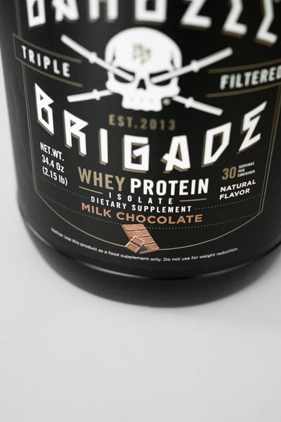 BB - Whey Protein Isolate (Milk Chocolate)